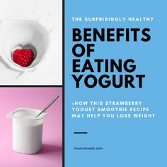 What Are the Health Benefits of Yogurt? Healthy Eating Articles, Clean Eating Food List, Healthy Eating Facts, Healthy Eating Guidelines, Healthy Meals For Kids, Clean Eating Recipes, Benefits Of Eating Yogurt, Yogurt Health Benefits, Best Foods For Energy