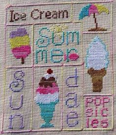 Summer - Cross Stitch Patterns & Kits