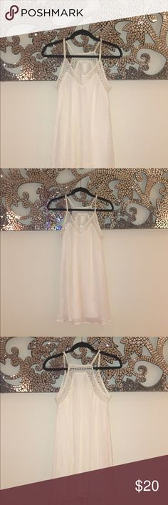 White brand new H&M flowy dress Brand new with tags H&M flowy dress H&M Dresses Mini