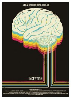 Inception - I prefer this poster than the film, actually