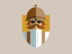 Dribbble - Secret Agent Man pt. III by J Fletcher Design