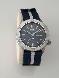 SEIKO SQ SPORTS 100 7123-8380 Vintage Japan Diver Watch Seiko 5 Sports, Seiko Diver, Omega Watch, The 100, Quartz, Japan, Watches, Ebay, Accessories