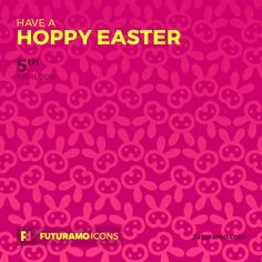 Have a hoppy Easter! Check out our FUTURAMO ICONS – a perfect tool for designers & developers on futuramo.com
