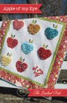 Apple Of My Eye quilt pattern $9 from The Quilted Fish