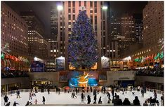 I would love to go to New York during Christmas time.