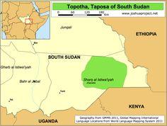 TOPOSA territory, South Sudan.