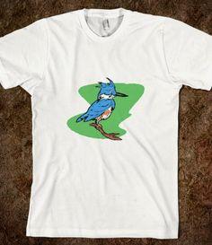 baby blue jay cartoon
