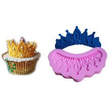 3D DIY Silicone Mold Imperial Crown Fondant Cake Decorating Tools Moldes Silicone Cake Tools Chocolate Mold Soap Moulds(China (Mainland))