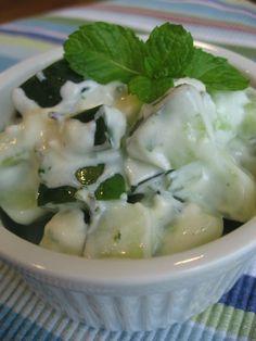 Ensalada de pepinos al estilo griego | En mi cocina hoy