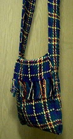 rigid heddle weaving | Rigid Heddle Weaving: Tibetan Bag
