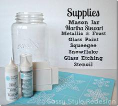 Simple Christmas Snowflake Neighbor Gift