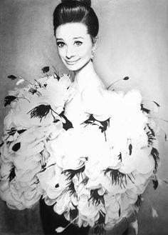 Audrey Hepburn 4 by MVVR.deviantart.com on @DeviantArt