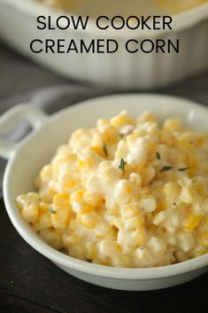 The Best Slow Cooker Creamed Corn Recipe (So easy)
