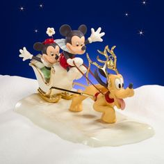 disney Minnie Mickey Pluto as Reindeer in sled - - Yahoo Image Search Results