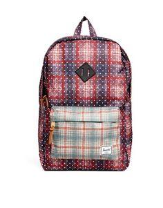 Herschel+Heritage+Backpack+in+Plaid