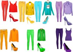"""""""Rainbow Outfits"""