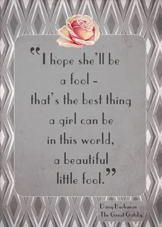 Great Gatsby quote