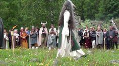 Viking Wedding in Norway at Landa Park - YouTube