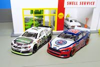 Spin Master NASCAR Authentics Memorable Moments Joey Logano Ford Fusion kyle bush toyota camry