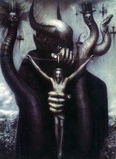 Satan, I (H.R. Giger)