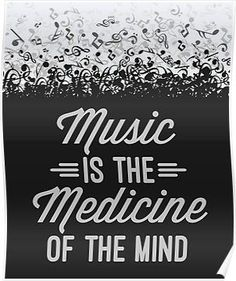 Music Is Medicine - The Daily Quotes Good Music Quotes, Lyric Quotes, Words Quotes, Music Sayings, Quotes About Music, Quotes Images, Music Is My Escape, Music Is Life, Daily Quotes