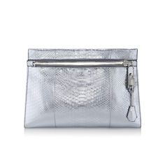 Alix Medium Metallic Python Shoulder Bag And Clutch - Tom Ford