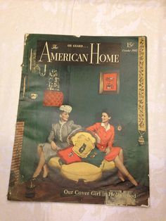 American Home Magazine October 1943 by sweetserendipityvint, $8.50