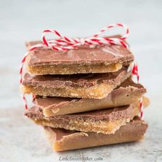 Christmas Crack (aka saltine cracker toffee) This cracker candy is crispy and chocolaty with a sweet buttery toffee finish. Candy Recipes, Holiday Recipes, Dessert Recipes, Christmas Recipes, Holiday Meals, Holiday Time, Family Recipes, Dessert Bars, Yummy Recipes