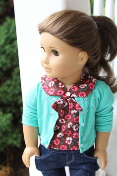 I just can't say enough about Clarisse's Closet. So many cute American Girl Fashion ideas.