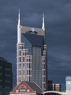Nashville AT&T building. I guess they think this is funny.
