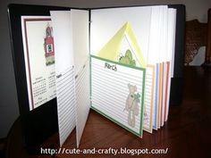 My greeting card organizer Greeting Card Organizer, Bill Organization, Birthday Calendar, Scrapbooks, Greeting Cards, Calendar Ideas, Crafty, Creative, Planners
