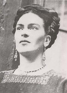 Love Frida Kahlo...her unique, progressive style sets her apart.