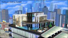 Metropolitan Penthouse for The Sims 4
