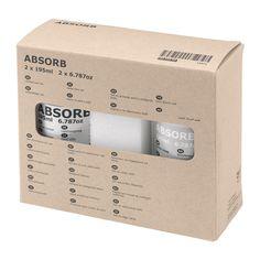 ABSORB Nécessaire entretien cuir IKEA Le nettoyant prolonge la durée de vie du cuir en le gardant lisse et doux.