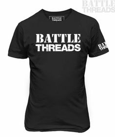1/10/17 - Today, we are featuring our men's/unisex logo tee!  (FYI this is also available as a women's tank top AND all tank tops are currently on sale for $5.00 off! Just sayin'! ) Get yours today, at www.battle-threads.com