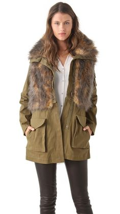 Three Floor Field Trip Parka  love this coat for fall