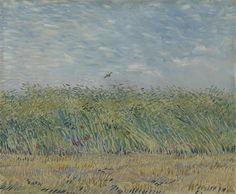 Wheatfield with Partridge, 1887, Vincent van Gogh, Van Gogh Museum, Amsterdam (Vincent van Gogh Foundation)
