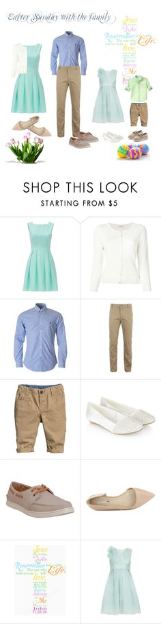 """""""Easter Sunday after church"""" by hmoua82 ❤ liked on Polyvore featuring Kate Spade, P.A.R.O.S.H., Lacoste, H&M, Monsoon, TOMS, BCBGeneration and Gymboree"""