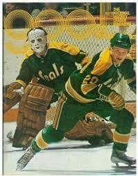 Gary Edwards Hockey Goalie, Hockey Games, Ice Hockey, My Childhood Friend, Goalie Mask, Oakland California, Hockey Players, Seals, The Past