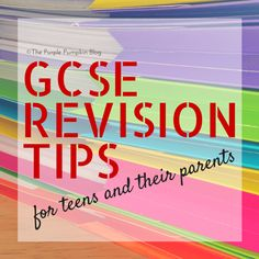 GCSE Revision Tips for Teens and their Parents + free printable planner and calendar!