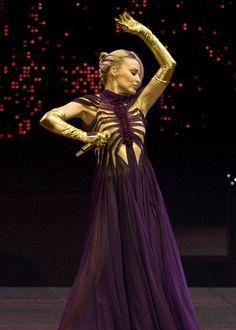 Kylie Minogue rocking Paris in Gaultier