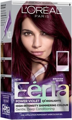 Image result for best hair dye for burgundy hair                              …