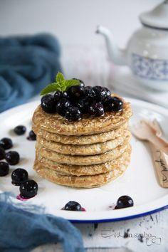 Breakfast Recipes, Pancakes, Healthy Eating, Sweets, Homemade, Vegan, Baking, Desserts, Foods