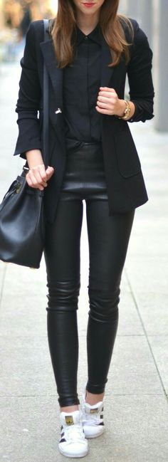 All Black - that always works for me...