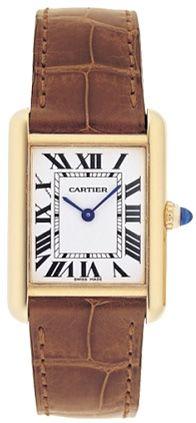 Cartier Tank Louis - Leather Band