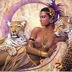 african queen tattoo - Google Search