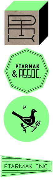 PTARMAK & Assoc. - Austin, Texas  Branding and Identity