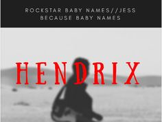 Me and Bobby McGee love this one. //Music inspired rockstar baby names. Rock l - Rock Baby Names - Ideas of Rock Baby Names - Me and Bobby McGee love this one. //Music inspired rockstar baby names. Rock legend baby names. Music Baby Names, Girl Names, Name Maker, Me And Bobby Mcgee, Name Origins, Unusual Baby Names, Names With Meaning, Rock Legends, Baby Boy