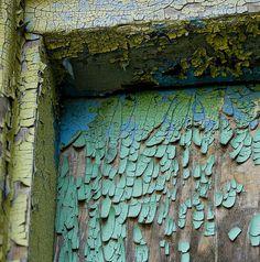 patina - rust - peeling paint - beautiful decay -