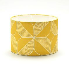 Rosette in Yellow Lampshade